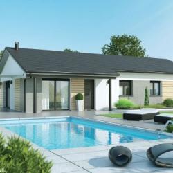 Maison  4 pièces + Terrain  1037 m² Issoire