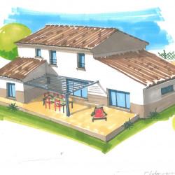 Maison  4 pièces + Terrain  302 m² Nîmes