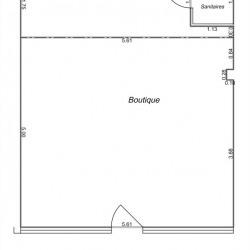 Location Local commercial Vauréal 38 m²
