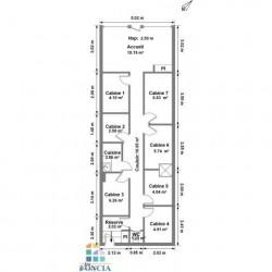 Location Local commercial Enghien-les-Bains 66,21 m²