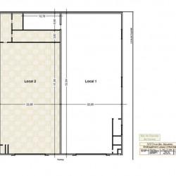 Location Local d'activités Thiais 2486 m²