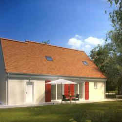 Maison  3 pièces + Terrain  240 m² Juziers