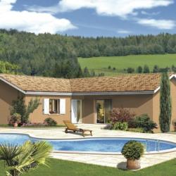 Maison  4 pièces + Terrain  910 m² Saint-Symphorien-d'Ancelles