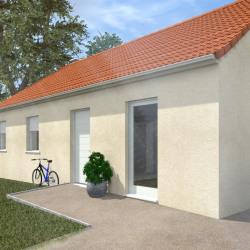 Maison  4 pièces + Terrain  1155 m² Les Clérimois