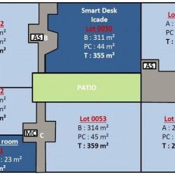 Location Bureau Villepinte 374 m²