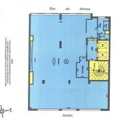 Location Bureau Boulogne-Billancourt 1129,49 m²