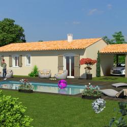 Maison  4 pièces + Terrain  480 m² Cazères