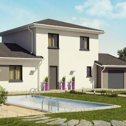 Maison  4 pièces + Terrain  900 m² Vignieu
