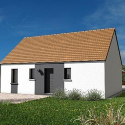 Maison  3 pièces + Terrain  1604 m² Feings