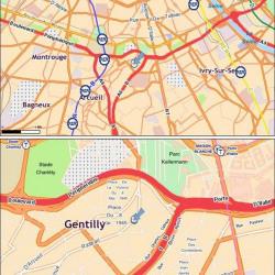 Location Bureau Gentilly 1050 m²