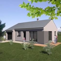 Maison  5 pièces + Terrain  1300 m² Bulgneville