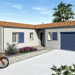 Maison  1 pièces + Terrain   m² Migné-Auxances