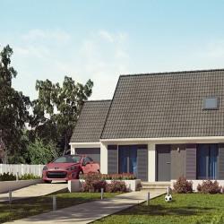 Maison  5 pièces + Terrain   m² Bazoches-Lès-Bray