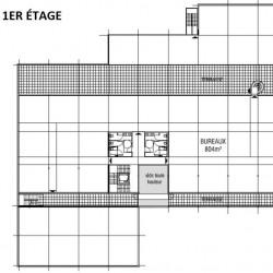 Location Bureau Dardilly 1608 m²