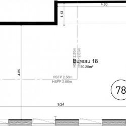 Vente Bureau Ifs 50 m²