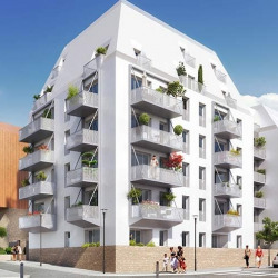 photo appartement neuf Aubervilliers