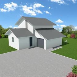 Maison  5 pièces + Terrain  574 m² La Biolle