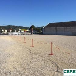 Location Terrain Brive-la-Gaillarde 2100 m²