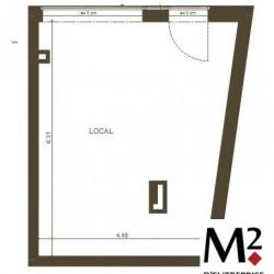 Vente Local commercial Lyon 8ème 30 m²