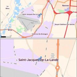 Location Local d'activités Saint-Jacques-de-la-Lande 297 m²