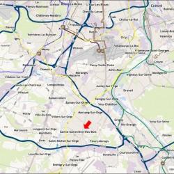 Location Local d'activités Sainte-Geneviève-des-Bois 1212 m²