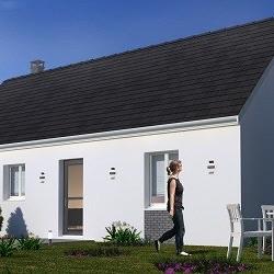 Maison  4 pièces + Terrain  400 m² Calonne-Ricouart