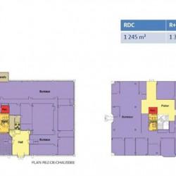 Location Bureau Villepinte 2557 m²