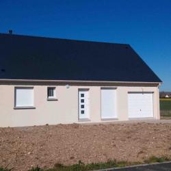 Maison  4 pièces + Terrain  647 m² Saint-Aubin-de-Locquenay