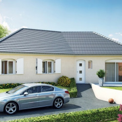 Maison  3 pièces + Terrain  859 m² Isle