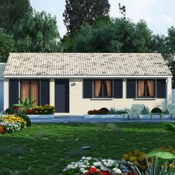 Maison  4 pièces + Terrain   m² Gorges