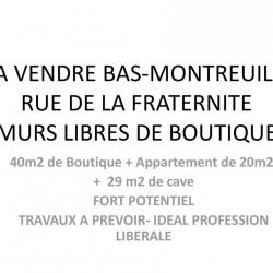 Vente Local commercial Montreuil 60 m²