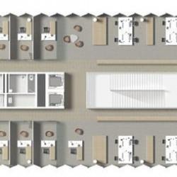 Location Bureau Bordeaux 10513 m²