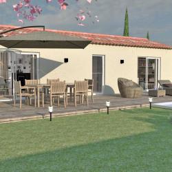 Maison  3 pièces + Terrain  400 m² Seillons-Source-d'Argens