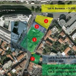 Location Bureau Gentilly 4980 m²