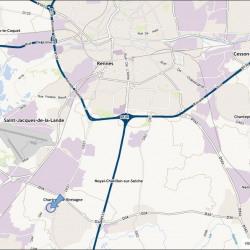 Location Local d'activités Chartres-de-Bretagne 210 m²