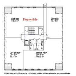 Vente Bureau Francheville 911,68 m²