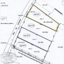 Vente Terrain Inchy-en-Artois 1000 m²