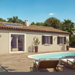 Maison  4 pièces + Terrain  450 m² Rocbaron