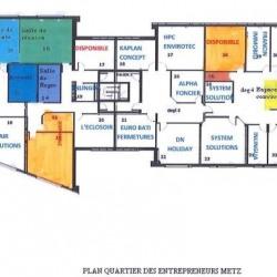 Location Bureau Metz 400 m²
