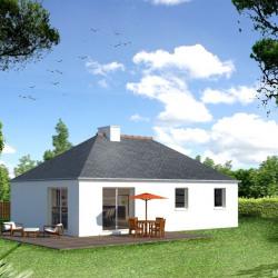 Maison  4 pièces + Terrain   m² Colpo