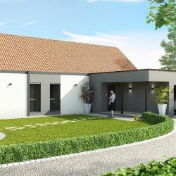 Maison  4 pièces + Terrain  596 m² Jaulgonne