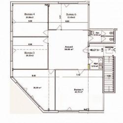 Location Bureau Bordeaux 550 m²