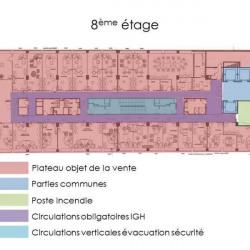 Vente Bureau Paris 13ème 895 m²