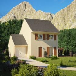 Maison  3 pièces + Terrain  800 m² Saint-Clair-sur-Epte