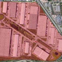 Location Entrepôt Mions 3406 m²