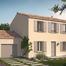 Maison  4 pièces + Terrain  488 m² Saint-Jeannet