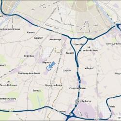 Location Local d'activités Bagneux 300 m²