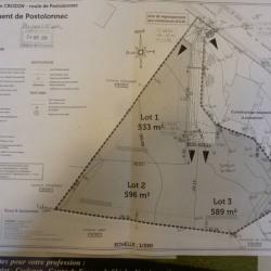 Vente Terrain Crozon 533 m²