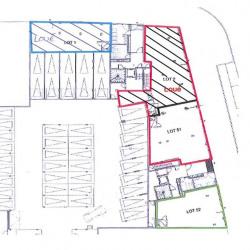 Location Bureau Metz 221 m²