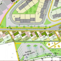 Terrain  de 435 m²  Rochefort-du-Gard  (30650)